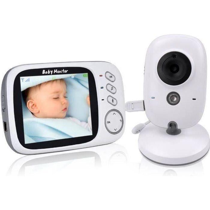 """Babyphone Bébé Moniteur Ecoute Bébé Caméra de Surveillance Sans Fil Ecran 3.2"""" Vb603 L0339A"""