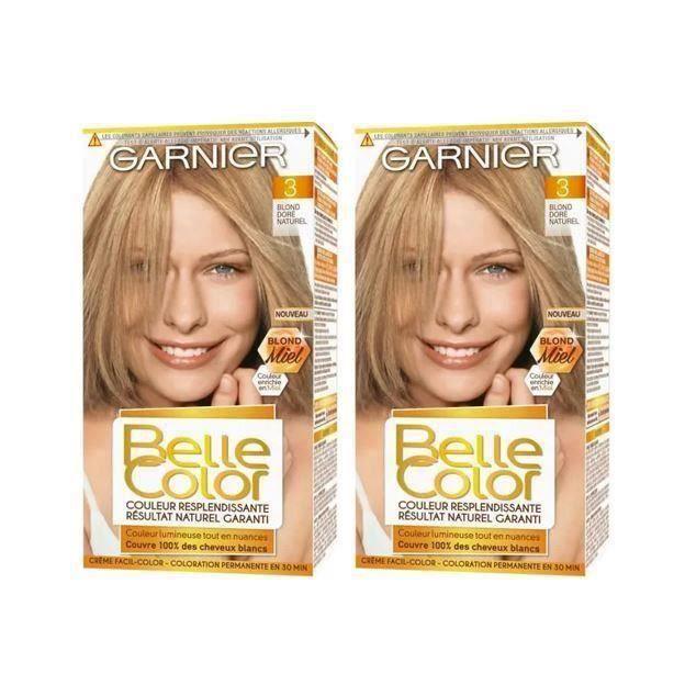 (Lot de 2) GARNIER Coloration Belle Color - Blond doré naturel N°03