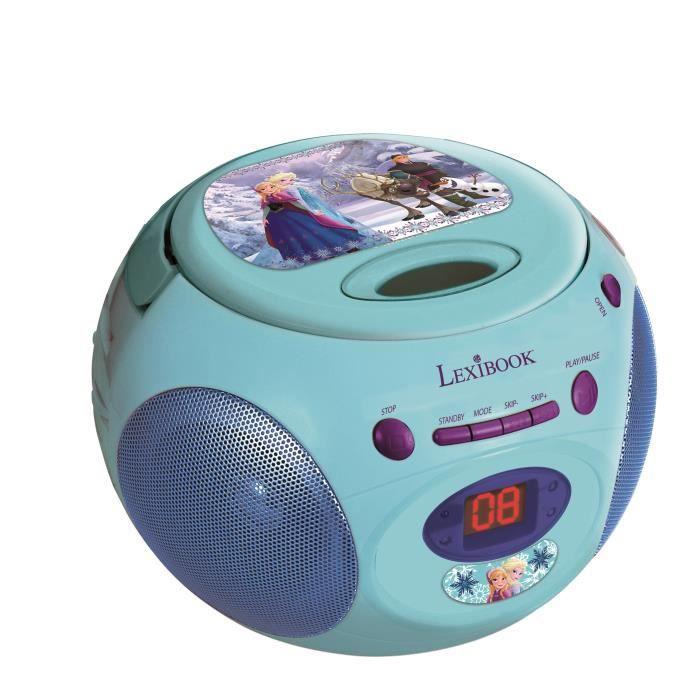 LA REINE DES NEIGES - Lecteur Radio CD Enfant