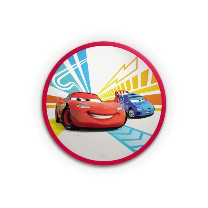 PHILIPS DISNEY Plafonnier enfant LED Cars - Lampe Disney