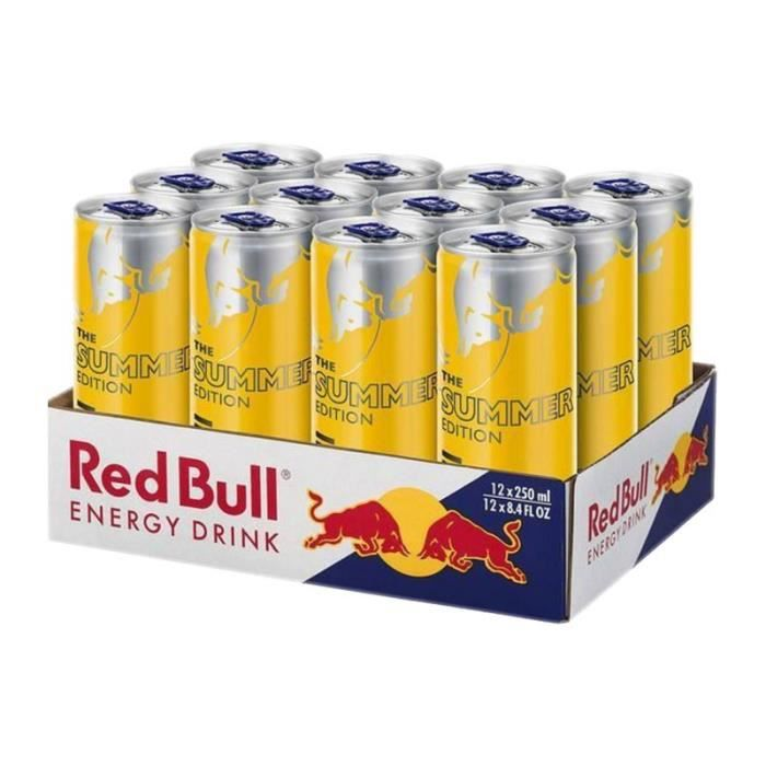 Red Bull Yellow Edition 25cl (pack de 12)