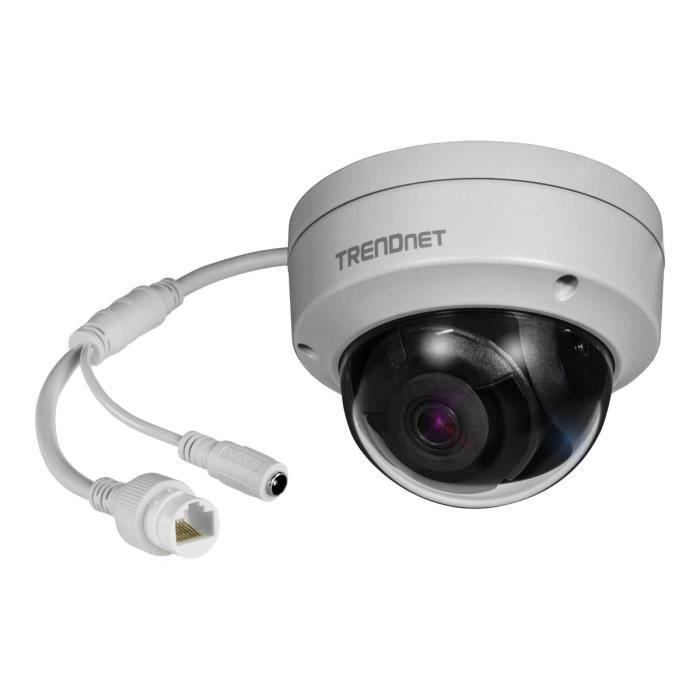TRENDNET Caméra réseau TV-IP317PI 5 Mégapixels - 30 m Night Vision - H.265, H.265+, H.264+, H.264, Motion JPEG - 1280 x 720 - CMOS