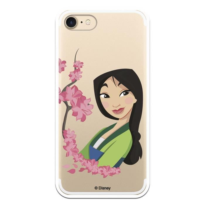 Coque Officielle iPhone 7 - IPhone 8 Coquelicots en silicone Mulan ...