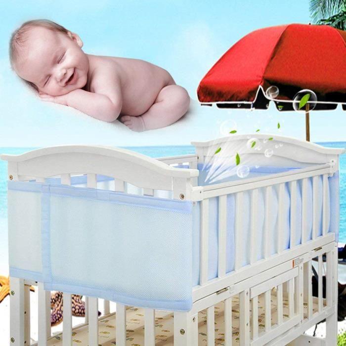 Tour de lit bebe respirant