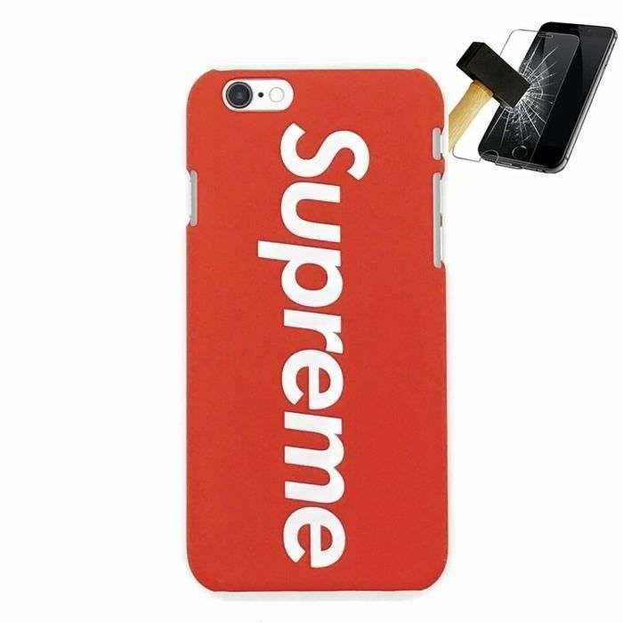 coque iphone 6 supreme rouge