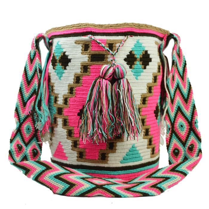 Wayuu Sac - Grand Mochila - Design - 1181 CTS9S