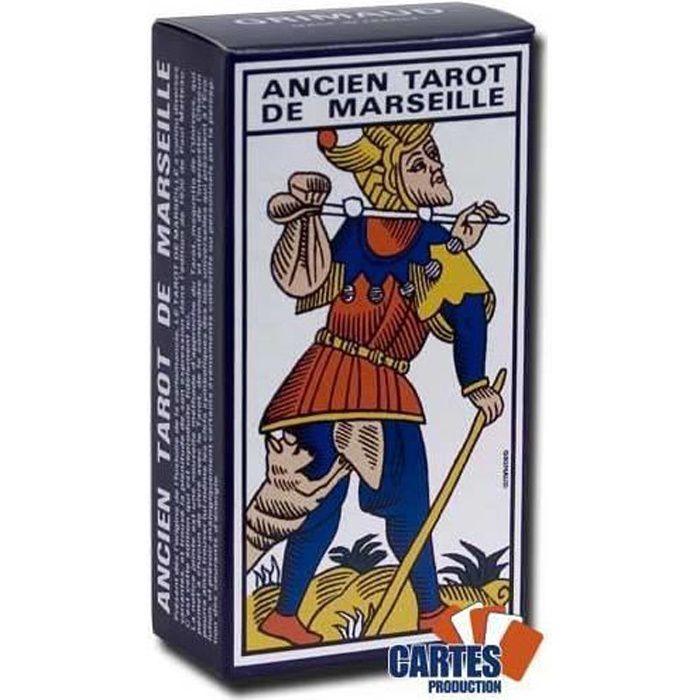 CARTES DE JEU Ancien tarot de Marseille - Jeu de 78 cartes