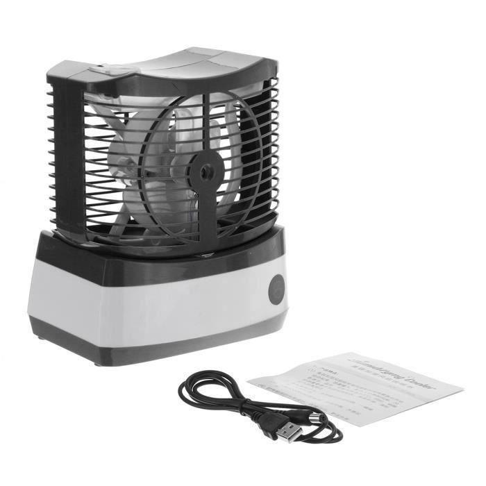 VENTILATEUR TEMPSA Mini Ventilateur D'eau USB Brouillard Air R
