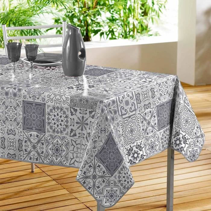 nappe toile ciree rectangle achat vente pas cher. Black Bedroom Furniture Sets. Home Design Ideas