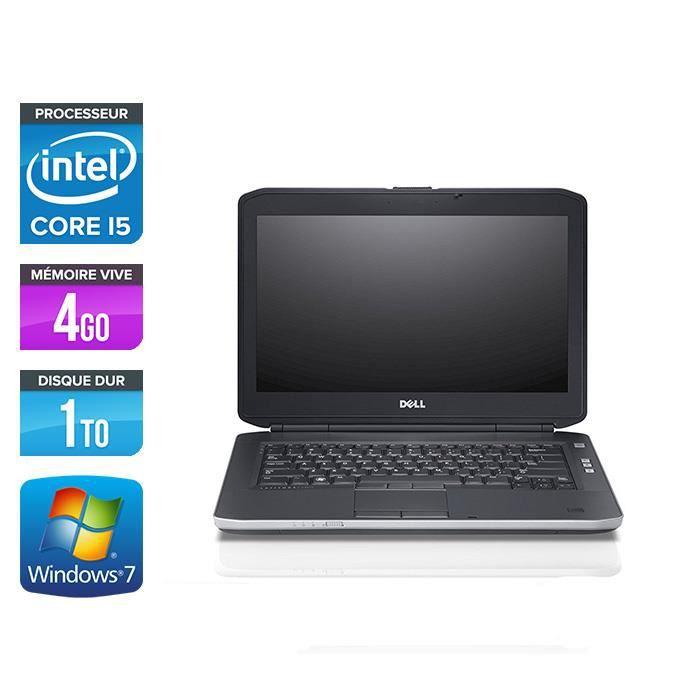 ORDINATEUR PORTABLE Pc portable Dell E5430 - i5 - 4Go - 1To HDD - Wind