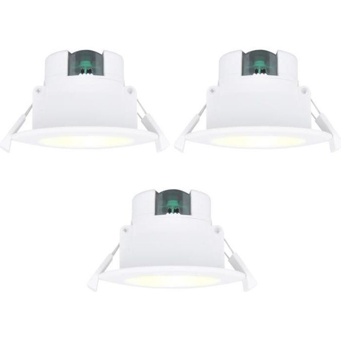 Lampes De Spot Encastrable Extra Plat 8w Plafond Cuisine Salle De