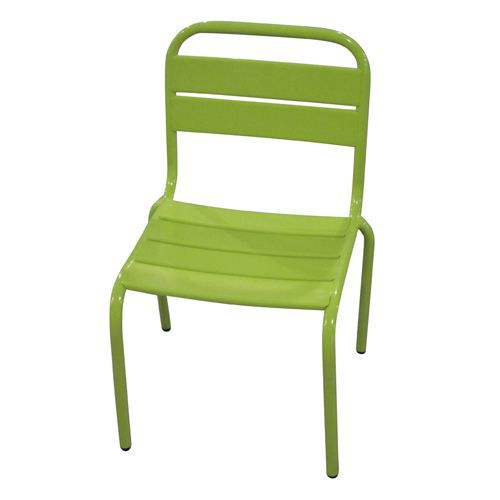 chaise de jardin enfant bayamon m tal vert achat vente fauteuil jardin chaise de jardin. Black Bedroom Furniture Sets. Home Design Ideas