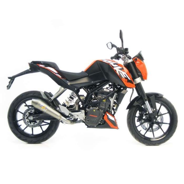 silencieux homologu leovince sbk gp style inox ktm duke 125 achat vente silencieux pour pot. Black Bedroom Furniture Sets. Home Design Ideas