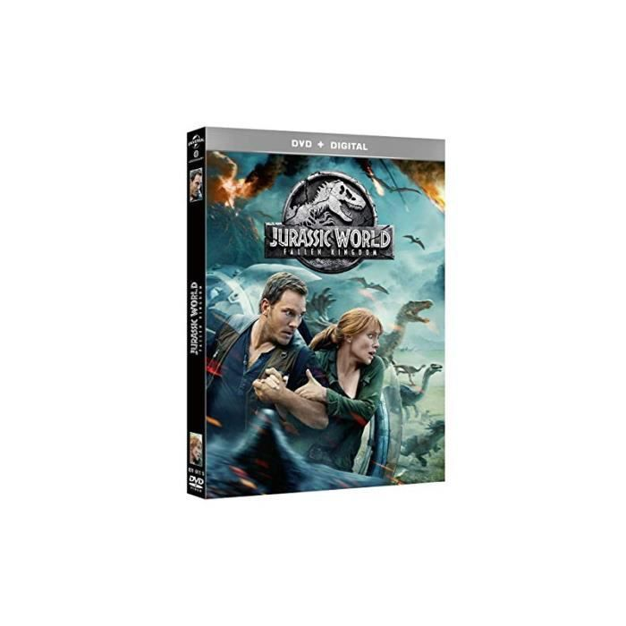 DVD FILM Jurassic World: Fallen Kingdom DVD [DVD + Digital]