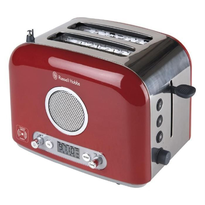 Russell hobbs 1514156 achat vente grille pain toaster cdiscount - Grille pain russel hobbs ...