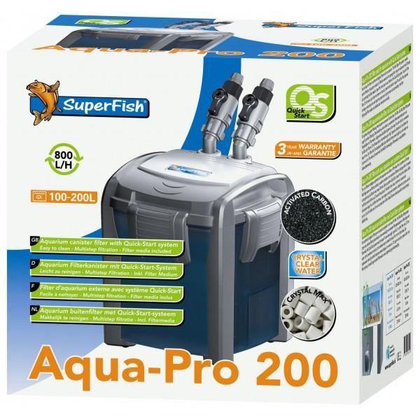 FILTRATION - POMPE Superfish QS 200