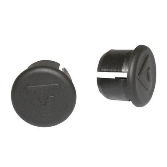 Guidon Bouchon-Ø 18-20 mm-en plastique noir