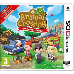JEU NEW 3DS - 3DS XL Jeu 3ds Animal Crossing New Leaf Welcome - Jeu Nin