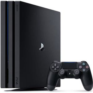 CONSOLE PS4 Console PS4 Pro 1To Noire/Jet Black - PlayStation