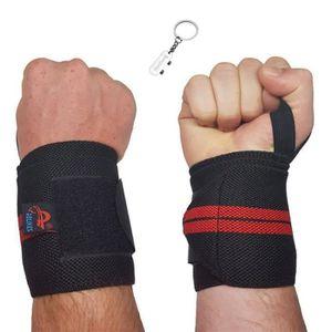 Haltérophilie poignet Wraps Bar Main Support Poignet Protecteur Gym Bodybuilding Str