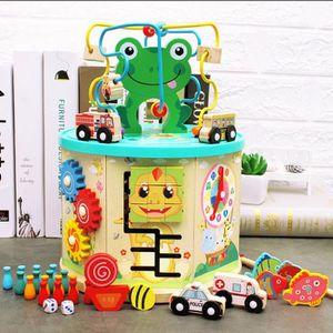 TABLE JOUET D'ACTIVITÉ  Grand 7 en 1 perle Maze Cube First Toddlers appre