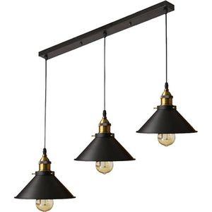 LUSTRE ET SUSPENSION UNI 3 Tête Suspension Luminaire Industrielle Lampe