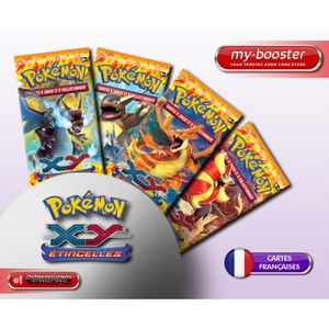 CARTE A COLLECTIONNER 9x Booster Pokemon XY 2 ETINCELLES (Flashfire) Fra
