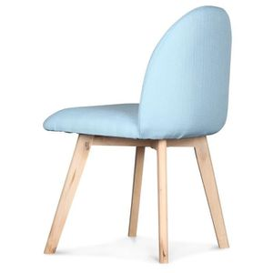 CHAISE Chaise Scandinave Bleue Ivar