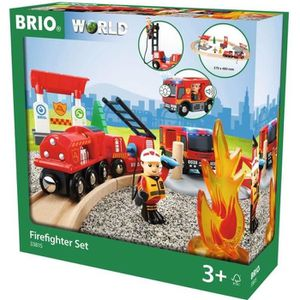 CIRCUIT BRIO World  - 33815 - Circuit Action Pompier