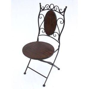 CHAISE DanDiBo Chaise Chaise de jardin HX12581 Chaise bis