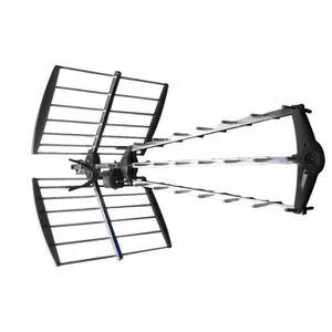 ANTENNE RATEAU KÖNIG Antenne rateau UHF TV extérieure 15.5dB DVB-