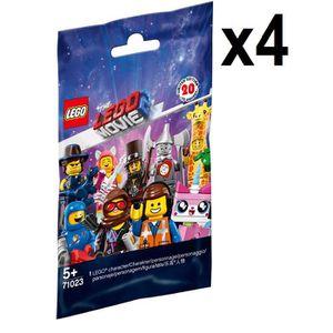 FIGURINE - PERSONNAGE LEGO Movie 2 Lot de 4 Mini figurines - 71023 Figur