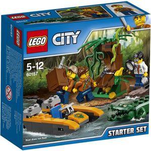 ASSEMBLAGE CONSTRUCTION LEGO® City 60157 La Jungle