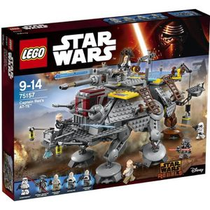 ASSEMBLAGE CONSTRUCTION LEGO® Star Wars™ 75157 L'AT-TE™ du Capitaine Rex