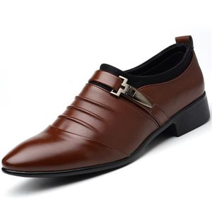 DERBY Derby Hommes Slip On Mocassins Affaires Décontract