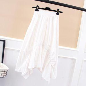 JUPE Jupe longue plissée douce pour femme sirène d'été