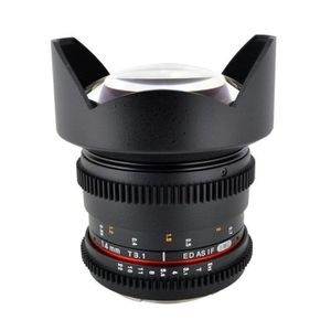 OBJECTIF Samyang 14mm T3.1 ED AS IF UMC VDSLR CANON
