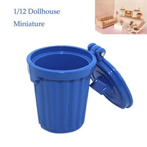 POUBELLE - CORBEILLE 1-12 Miniature Dollhouse Accessories Mini Garbage