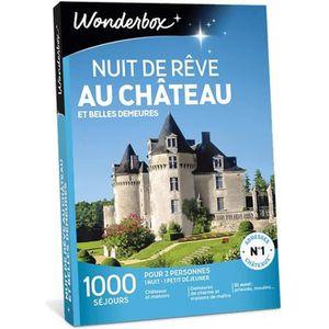 COFFRET SÉJOUR Wonderbox - Coffret cadeau en couple - Nuit de rêv