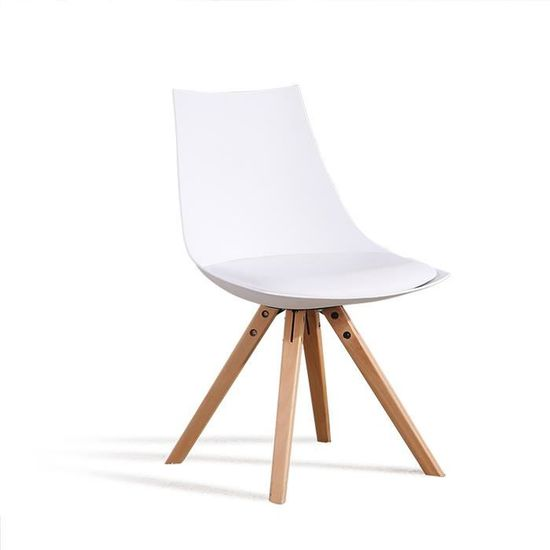 Designetsamaison Chaise scandinave Grise Romano