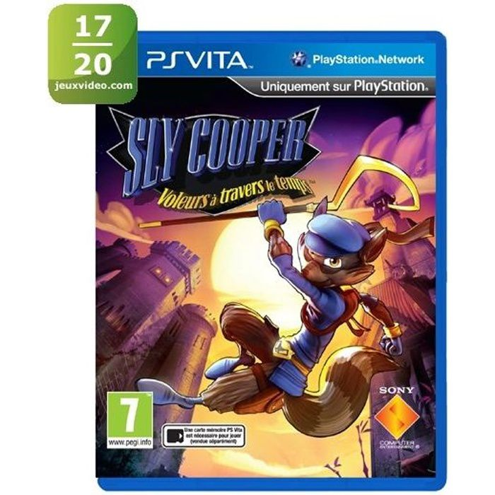 Sly Cooper Thieves In Time Jeu PS Vita