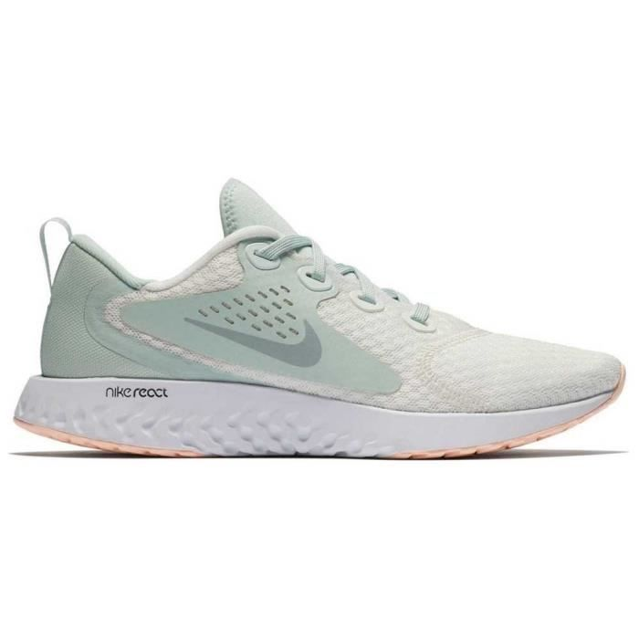 NIKE Baskets de running Rebel React - Femme - Blanc