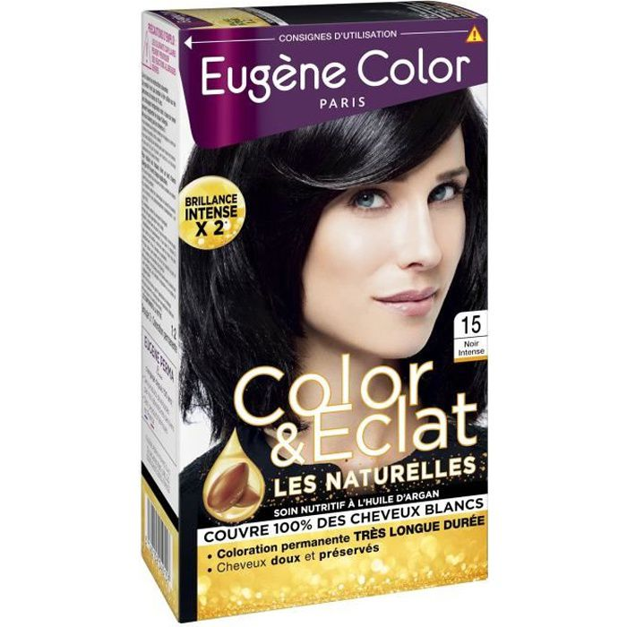 EUGENE COLOR Crème Colorante permanente 15 Noir