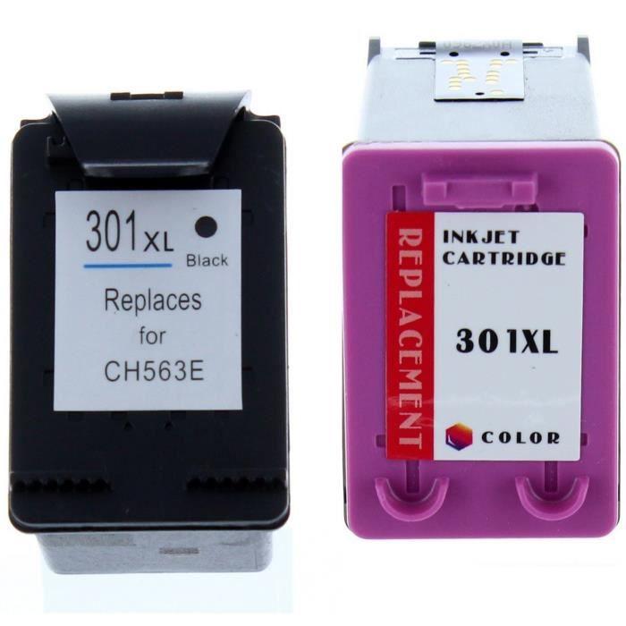 Pack compatible HP 301XL pour HP Envy 5530