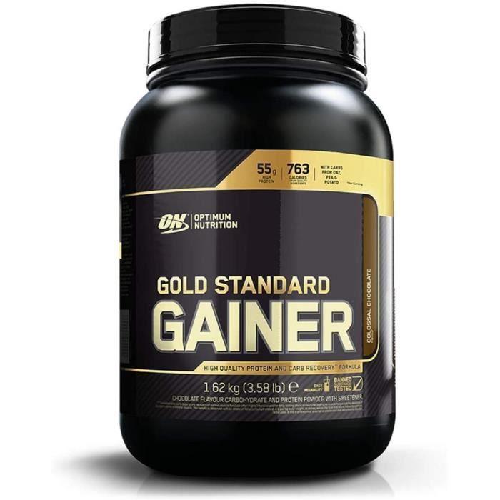 Gold Standard GainerMass Gainer pour Prise de Masse et RécupérationSaveur Chocolat8 Portions1,62 kg 669
