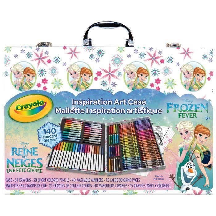 Jeu De Coloriage CRAYOLA Cas d'art Inspiration congelé, Les styles peuvent varier F5588