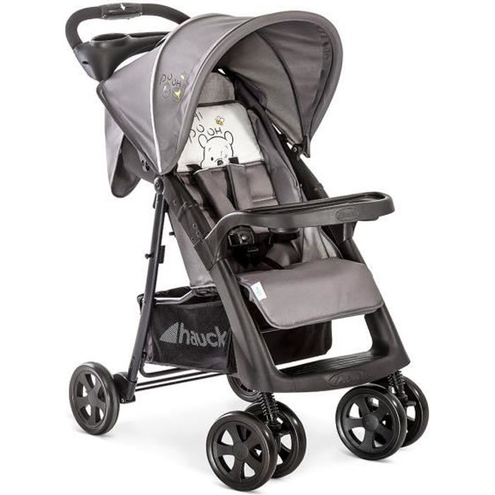 Poussette Disney HAUCK Winnie L'Ourson Shopper Neo II - Ultra compacte