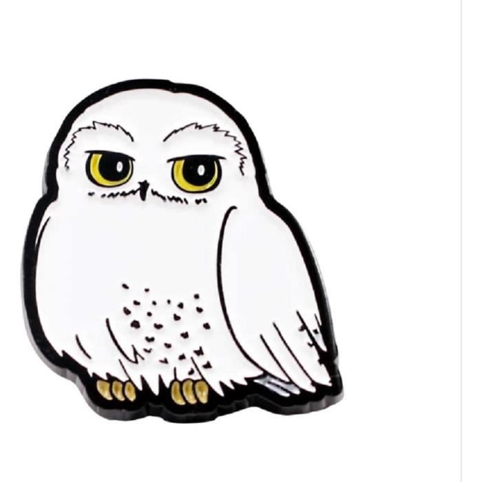 Harry Potter - Pin Badge Émail - Hedwig