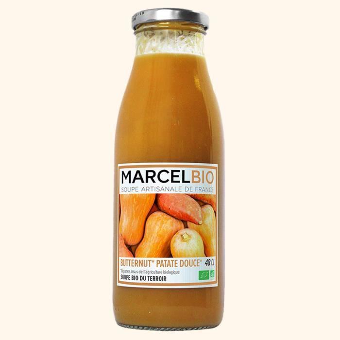 MARCEL BIO - Soupe de Butternut & Patate Douce Bio 48cl