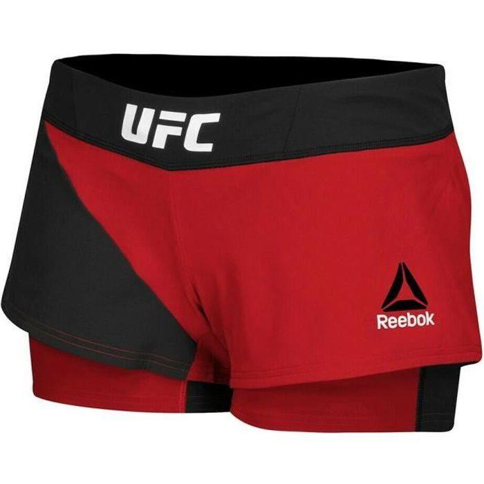 Short de combat Femme Reebok UFC Fight Kit Octagon Speedwick W AZ8978